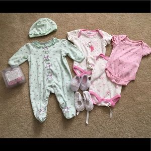 Other - Baby Girl Bundle 0-3 Month with Shoes